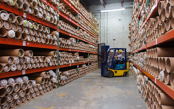 The Ecofabrix warehouse